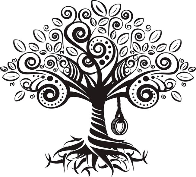 Свадебное дерево пожеланий своими руками – скачать шаблон